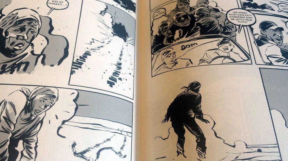 Graphic Novels. Der Traum von Olympia (Reinhard Kleist)