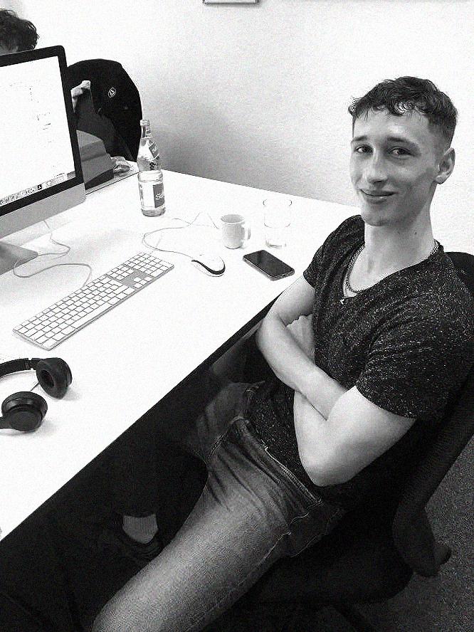 Ben Rose, Student B.A. Kommunikationsdesign (FH)